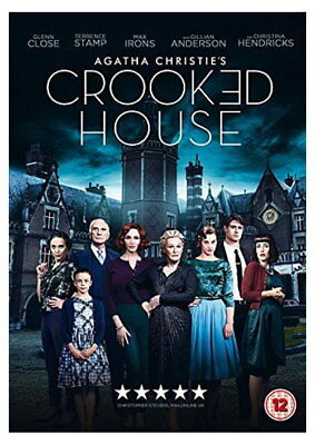 Agatha Christie's Crooked House [DVD] [2017] [New DVD]