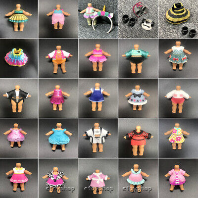 """Real LOL Surprise Doll Clothes outfit Skirt Dress for 3"""" Big Sisters accessoy"""