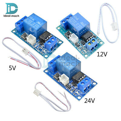 DC 5V/12V/24V 1 Channel Latching Relay Module With Touch Bistable Switch MCU