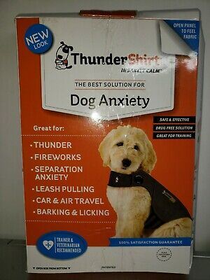 Thundershirt Classic Dog Anxiety Jacket - Heather Gray sz. XL open box