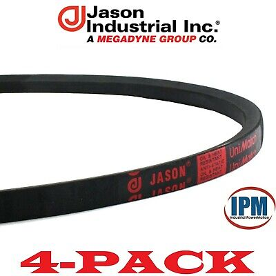 A//4L Section 1//2 Top Width Natural Rubber//SBR//Polyester Jason Industrial A38 4L400 V-Belt 11//32 Thick 40 Outside Length