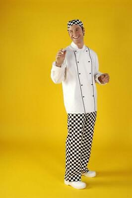 Chefs Jacket White Piped Detail Sous Kitchen Restaurant Work Cafe UK Made ccj02