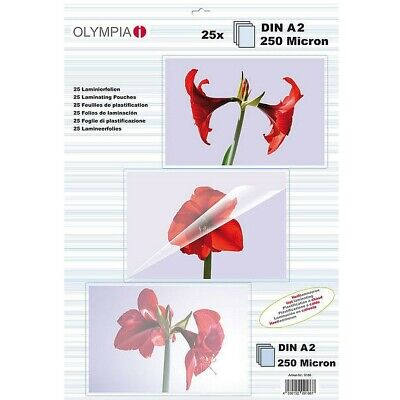 Olympia Laminating Pouches Din A2 - 250MIC