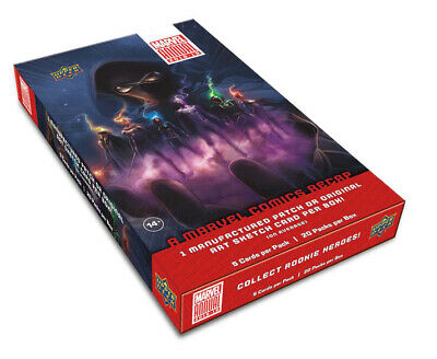 Upper Deck Marvel Annual 2018-19 Factory Sealed Trading Card Hobby Box
