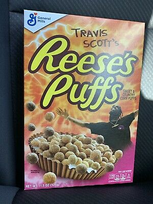 Travis Scott Reese's Puffs Cereal Limited Edition