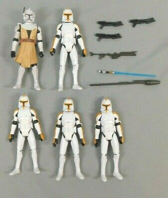 Star Wars Obi-Wan / 212Th Attack Battalion Clone Troopers Loose Figures