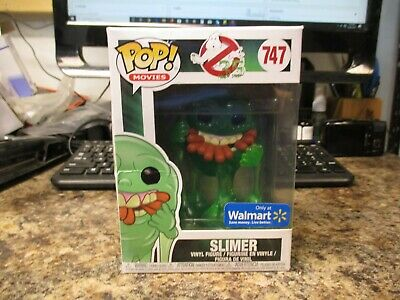 Funko Pop Movies #747 Slimer New Figure In Damaged Box  Fast/Free Shipping