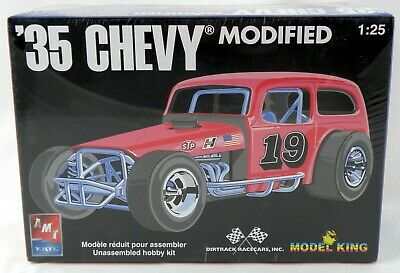 1:25 Scale 1935 Chevy Modified Stock Car Plastic Model Kit - AMT/ERTL #21373P