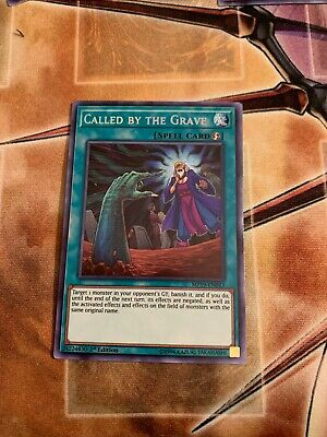 *** Called By The Grave *** Prismatic Secret Rare (Pre-Sale) Mp19 Yugioh!
