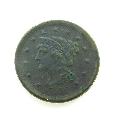.1852 Us Large One Cent.