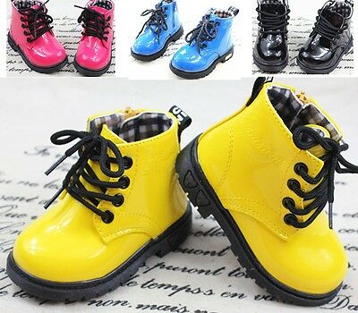 New Baby Shoes Boots Girls Boys Martin boots Childrens Kids shoes boots Size AU