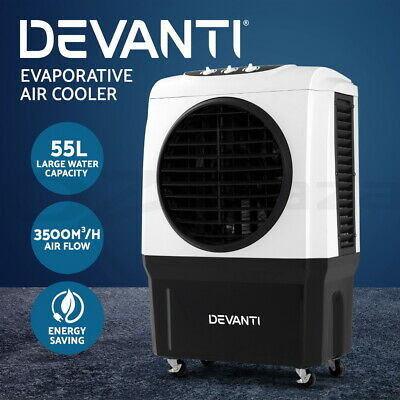 20%OFF Evaporative Air Cooler Industrial Commercial Portable Water Fan Workshop