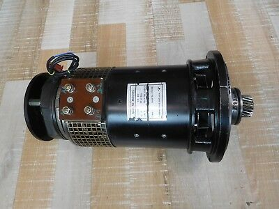 Stapler Electric Motor Ttl 180A, 48VDC, 135A, Performance 5 Kw with Brake Lenze