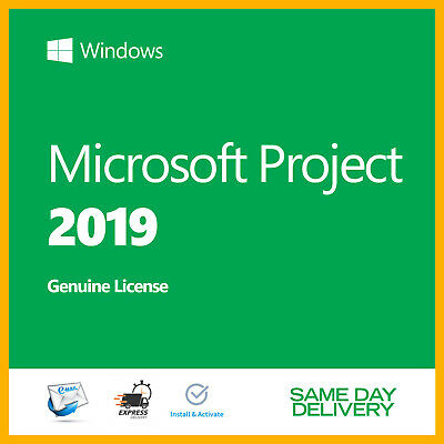 MICROSOFT Project 2019  Professional Product Key 🔐 Authentic License 🔐