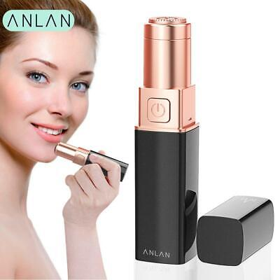 ANLAN Epilator Women Painless Hair Removal Mini Female Upper Lip Cheeks Lipstick
