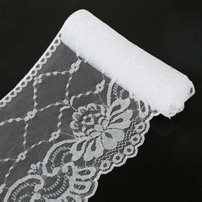 Yards Lace White Ribbon DIY Embroidery Net Trim Sewing Decoration African Fabric