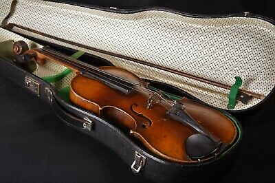 Old Violin Violin Papers Jacobus Stainer in Absam Proper Arch Suitcase um 1765