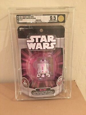 2007 Hasbro Star Wars SDCC exclusive R2-KT AFA 9.5 Uncirculated