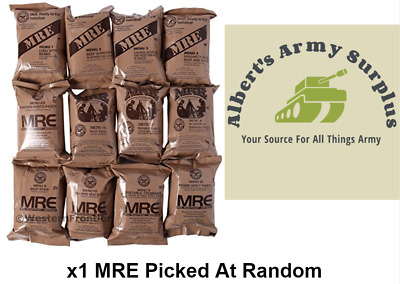 Military Rations Camping Survival Mre Meals Random Draw