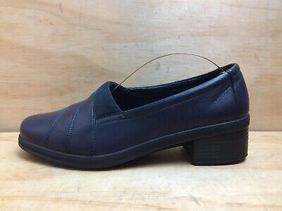 Hotter Comfort Concept Womens Navy Leather Loafers  Size UK 5.5  EU 38.5