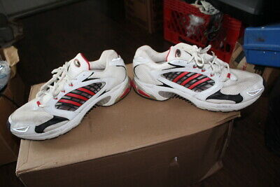 new style 03a49 2f697 VINTAGE 2004 MENS Adidas ClimaCool Adiprene YS6 621001 RUNNING WHITE SHOES  SZ 15