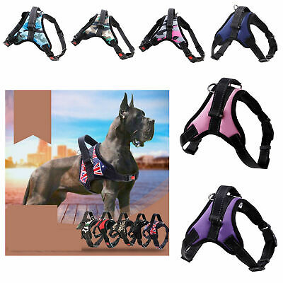 No Pull Dog Pet Vest Harness Strap Adjustable Nylon Small Medium Large X Dogs