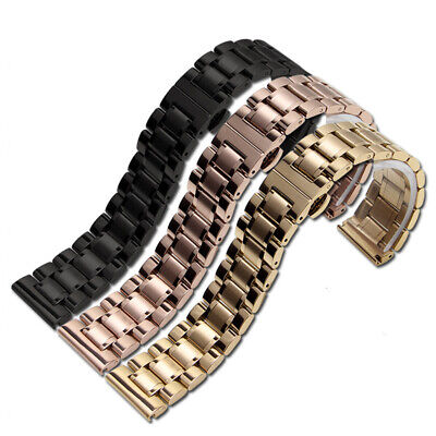 All Match Stainless Steel Luxury Watch Band Strap Bracelet Wristband Universal