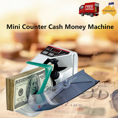 Australian Money Bill Note Counter Automatic Counting Machine All Currency