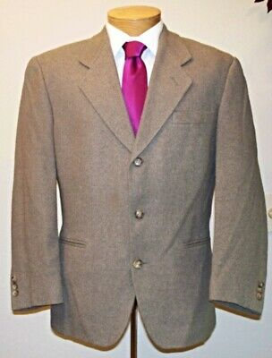 "Men's 'VITO RUFOLO' 3 Button ""Italian"" Classic SILK Coat Blazer Jacket (40S)"