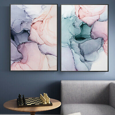 Nordic Wall Art Poster Abstract Color Canvas Painting Wall Pictures Home Decor