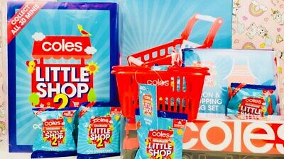 🍭🍣🍰Coles - Little Shop 1 + 2 - Pick Your Own From List - Free Postage!🍭🍣🍰