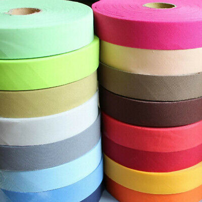 Cotton Bias Binding Tape 35mm 3/4 Inch unfold Wide Trimming/Edging/Quilting>20mm
