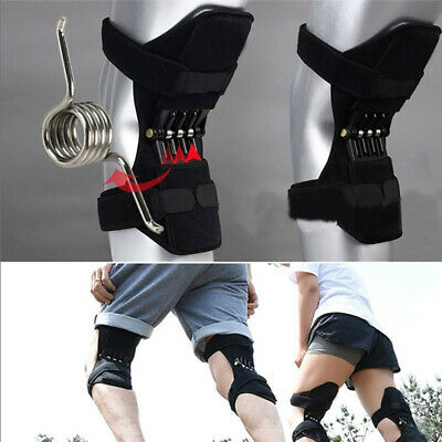 1/2pcs Patella Booster Spring Knee Brace Support for Mountaineering Squat