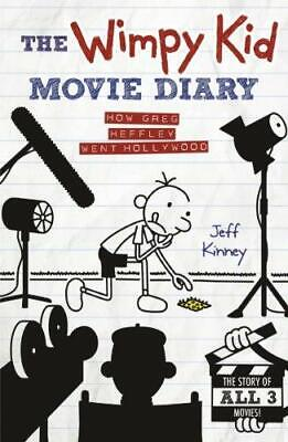 The Wimpy Kid Movie Diary by Jeff Kinney Hardback NEW Book