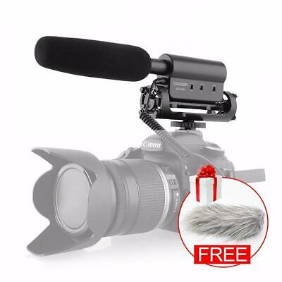 TAKSTAR SGC-598 Condenser Photography Interview Recording Microphone for DSLR DV