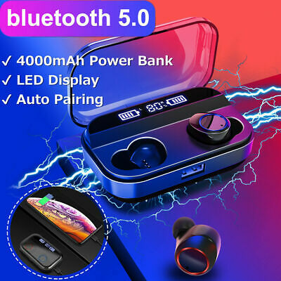 X11 TWS Bluetooth 5.0 Led Headset Wireless Headphones Earphones For ios Andriod