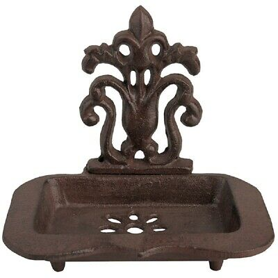 Soap Dish, Wall Soap Dish, Soap Dish in Historicism Style, Cast Iron