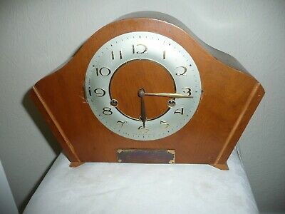 Smiths, Westminster Chimes Mantle Clock, For Parts or Restoration.