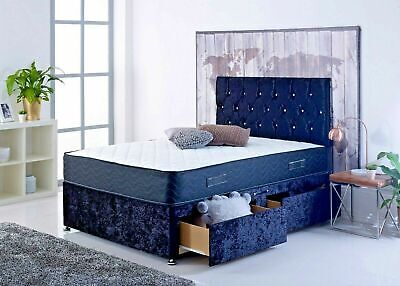 Brand New Magic Divan Bed Set+Mattress+Headboard, Double, All Size Available