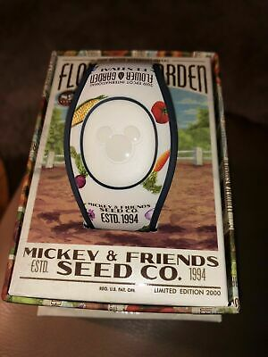 Disney Epcot Flower Festival And Garden 2019 Mickey Magic Band MagicBand LE 2000