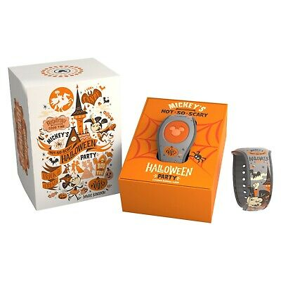 Disney Mickey's Not So Scary Halloween Party Magicband 2018 Glow in Dark Limited
