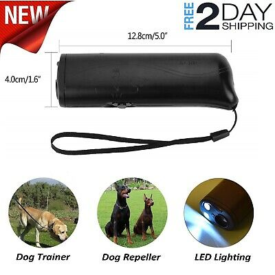 Stop Dog Anti Barking Ultrasonic Pet Trainer Device Dog Repeller Control No Bark