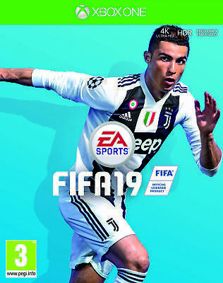 FIFA 19 Game Xbox One Soccer Football Electronic Arts Career Champions League