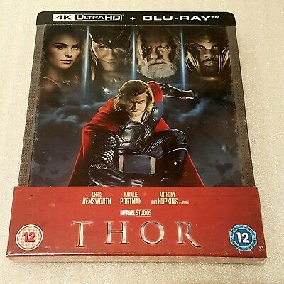 Marvel THOR - Zavvi Exclusive 4K UHD+2D Blu Ray Steelbook - NEU & OVP