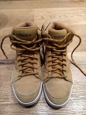 ADIDAS NEO LABEL Sneaker Schuhe Mid Gr .41 13 US 8 UK 7 12 Top braun