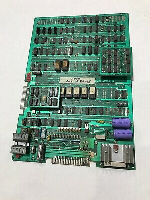 Ms Pacman Bally Midway Arcade Game Main PCB Board UNTESTED (Board E)