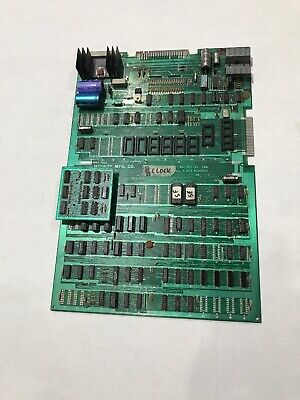 Ms Pacman Bally Midway Arcade Game Main PCB Board UNTESTED (Board D)