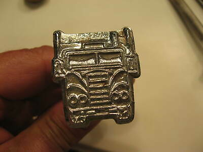 Vintage BARON Tool LA Leather Craft Stamping Tool Stamp #973 BIG RIG Truck SEMI