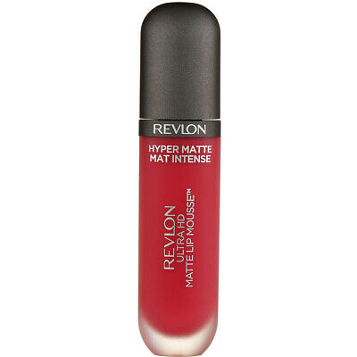 4 Pack Revlon Ultra HD Matte Lip Mousse, Sunset 810, 0.2 fl oz