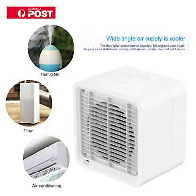 Portable Mini Air Conditioning Conditioner Cool Fan Home Office Desk Cooler